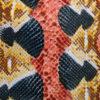 snake pattern heat transfer film for textile