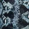 snake pattern heat transfer foil for textile
