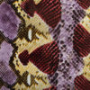 snake print hot foil for garment fabric