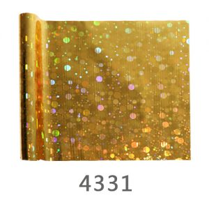 Golden Colour hologram Film