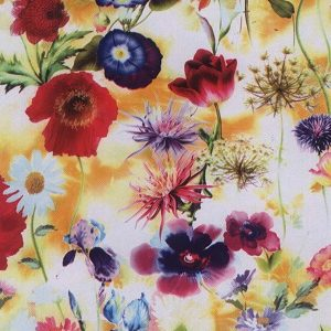 Flower Design Leather Filim