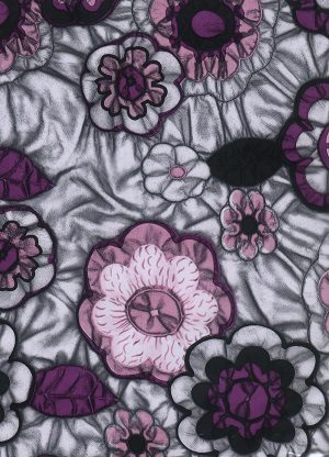 Colourful Flower Pattern Transfer Filim