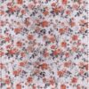 Light Coloured Flower Pattern Transfer Hot Foil